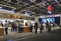 Stand der Firma Huawei , Internationale Funkausstellung IFA, 201
