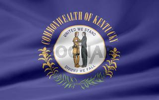 Flagge von Kentucky - USA