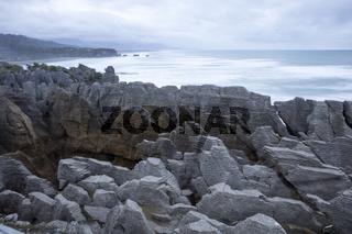 Neuseeland Pancake Rocks in Punakaiki