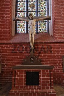 spätgotisches Kruzifix - Münster Bad Doberan