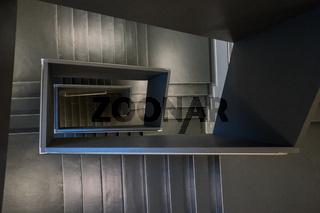 Treppenhaus in einem Museum