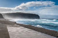 footbridge to praia do areal de santa bárbara
