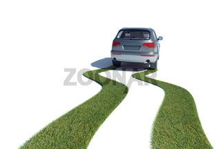 Eco-friendly car concept