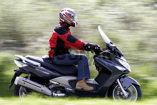 Kymco Xciting 500 Roller | Kymco Xciting 500 scoot