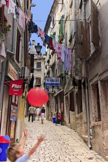 Street Scene Rovinj Croatia
