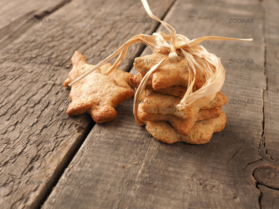 Sweet organic homemade cookies