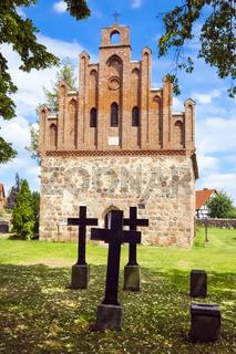 Dorfkirche Zützen, Brandenburg, Deutschland