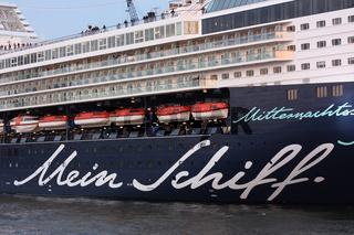 Das Kreuzfahrtschiff 'Mein Schiff'
