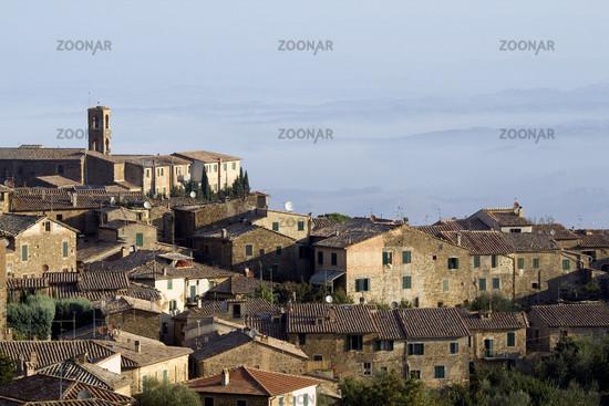 Montalcino, Toskana, Italien