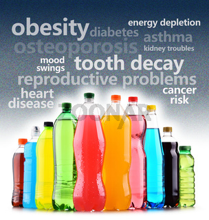 Warning against the dangerous effects of soft drinks on health