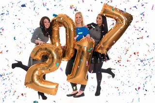 3 freundinnen feiern silvester - silvesterparty 2017