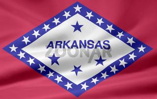 Flagge von Arkansas - USA