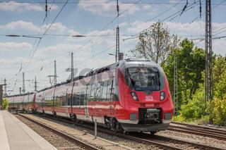 Energieeffiziente Fahrzeuge bei der Deutschen Bahn - Bombardier Talent 2
