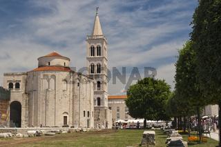 Römisches Forum/The Roman Forum, Zadar