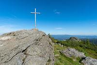 Gipfelkreuz des Grossen Arber