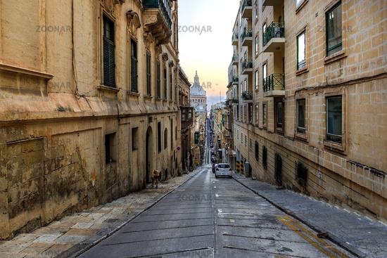 Streets of Valletta