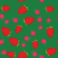Berry cartoon seamless texture 641