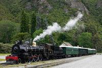 Dampflok in Neuseeland