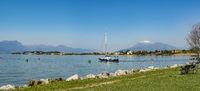 Sirmione di Garda | Hafenausfahrt von Colombare
