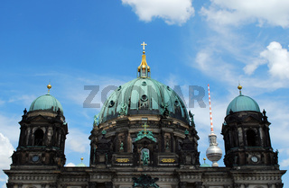 berlin dome and tv-tower