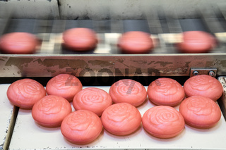 Produktion von Seife