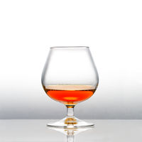 A with cognac filled snifter