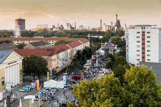 Stadtfest 2016 in Eisenhüttenstadt