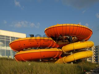 Wasserrutsche in Westerland