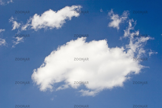 Wolken am blauen Himmel, Sexten, Italien, clouds, blue sky, italy