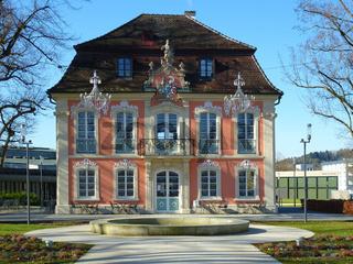 Rokoko-Schlösschen im Stadtpark von Schwäbisch Gmünd