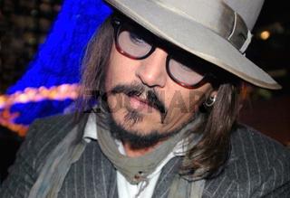Premiere 'The Tourist' mit Johnny Depp in Berlin am 14.12.2010