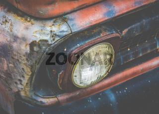 Rusty Truck Detail