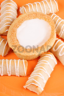 Assortment of danish and swedish sweets