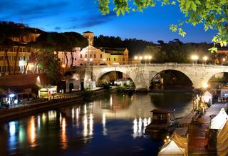 Bridge Cestio in Rome