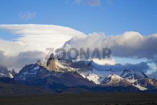 Morgenstimmung am Fitz Roy Massiv, Argentinien