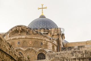 Grabeskirche, Church of the Holy Sepulchre, Jerusalem, Israel