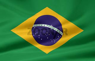 Flagge von Brasilien