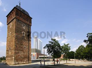 Der Rote Turm und Hotel Mercure, Chemnitz