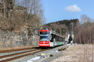 Mit der Stadtbahn ins Erzgebirge