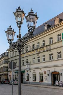 Traditionshotel 'Wilder Mann' in Annaberg