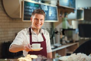 Young barista