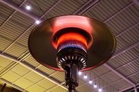 Gas terrace heater