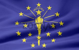 Flagge von Indiana - USA