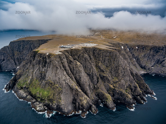 North Cape (Nordkapp) aerial photography,
