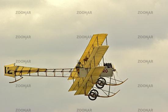 UK Shuttleworth Collection Avro Triplane  Aircraft