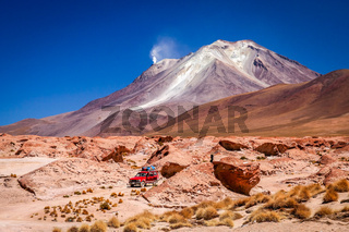 Car exploration of Altiplano