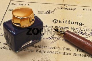 alte Quittung | old receipt
