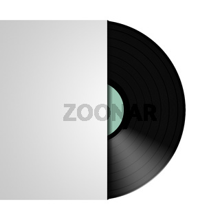 typical vinyl record