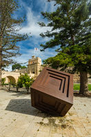 Art sculplture in Mdina,Malta