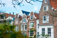 Beautiful World famous Begijnhof - Beguinage in Amsterdam, Netherlands.
